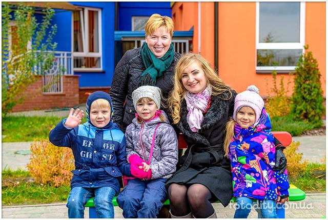 Фотография в детском саду